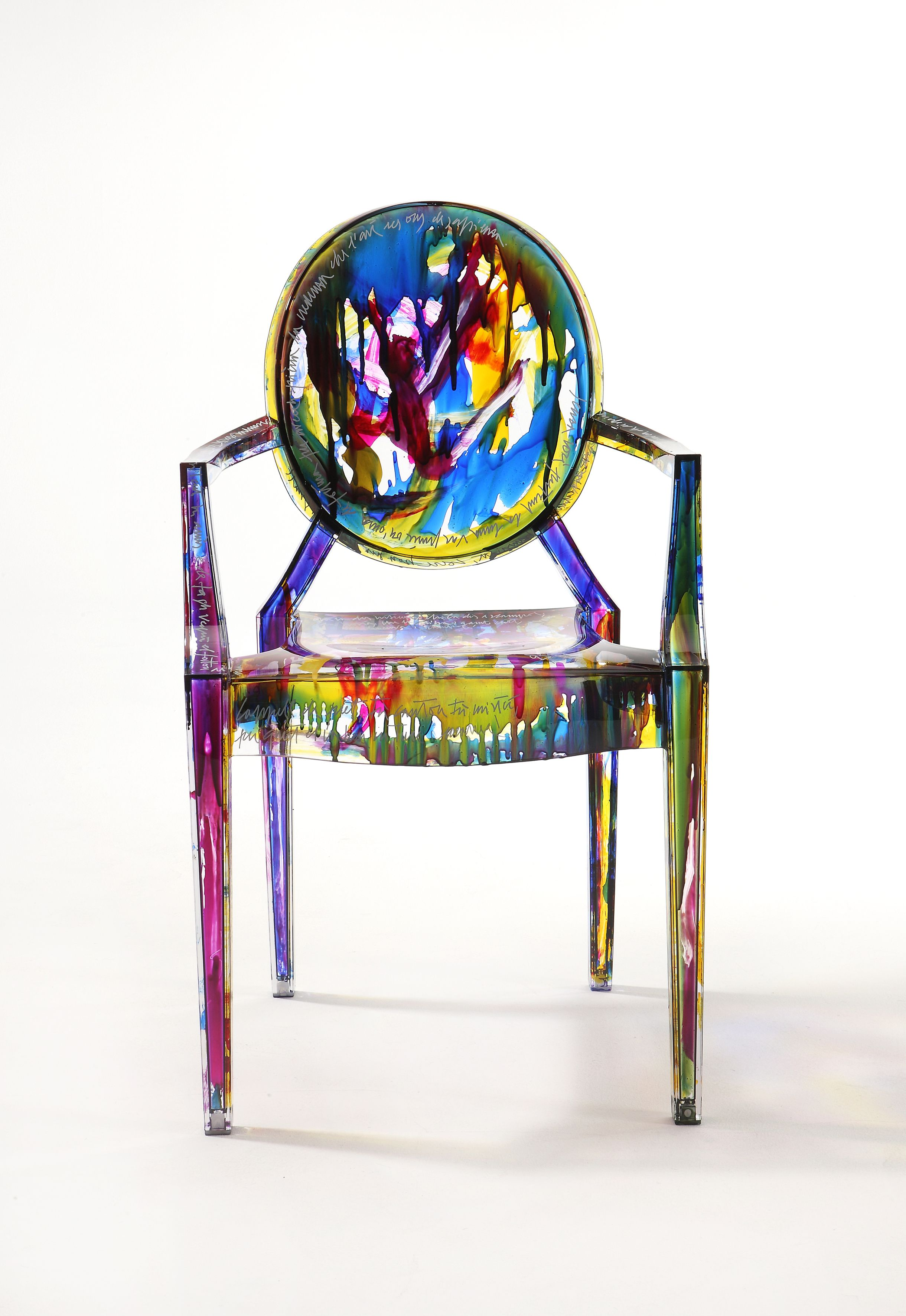 Kartell Louis Ghost Chair Multi Coloured by Philippe ...