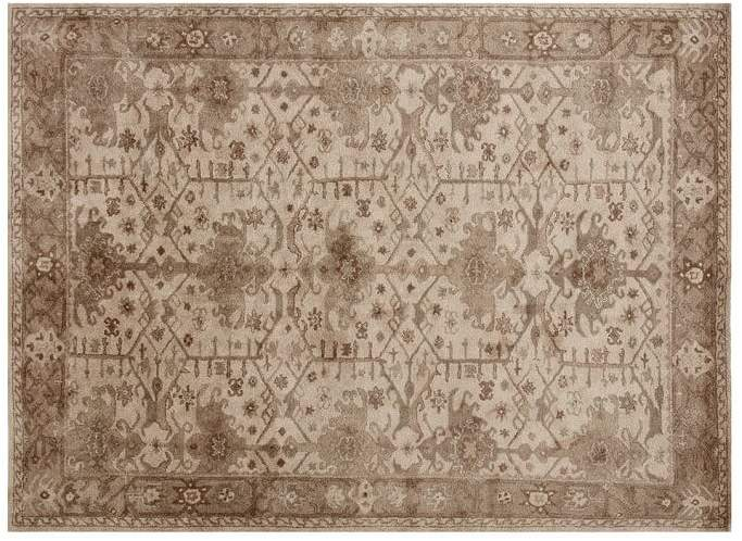 Pottery Barn Channing Persian Style Rug Neutral