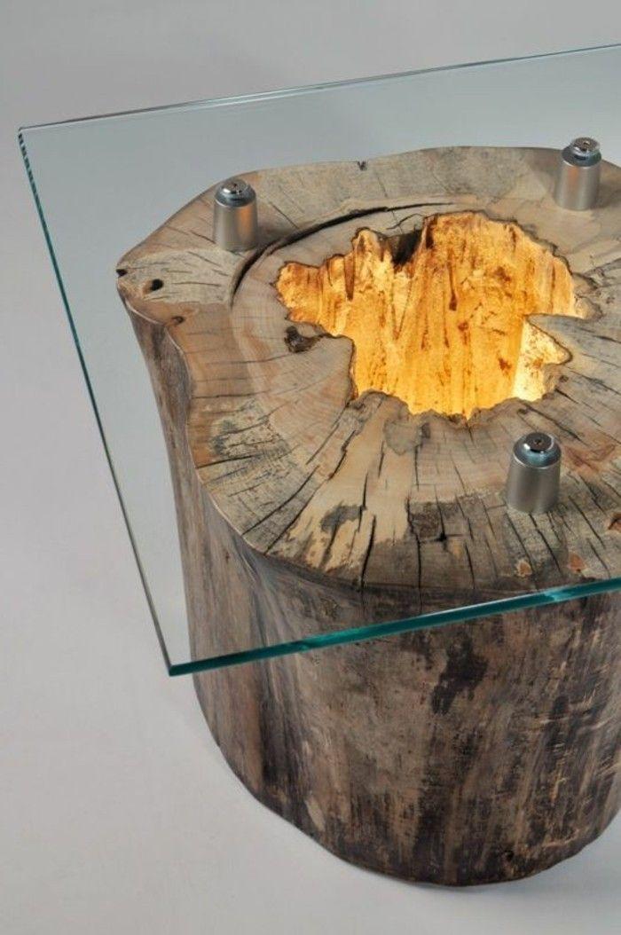 Cr ation en bois flott bois flotte pinterest - Meuble bois flotte ...