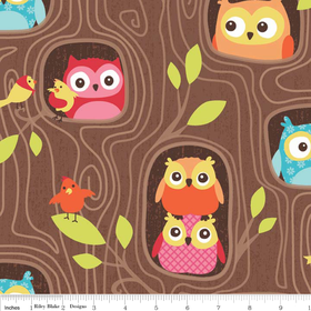 Riley Blake Designs Flappers Hideout Brown Ordered 6 yards Coming October 2014