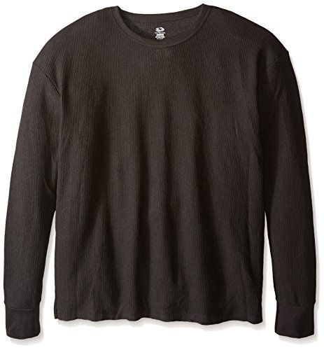 Helly Hansen Mens Black Long Sleeve Athletic Running Crew Neck Baselayer Top