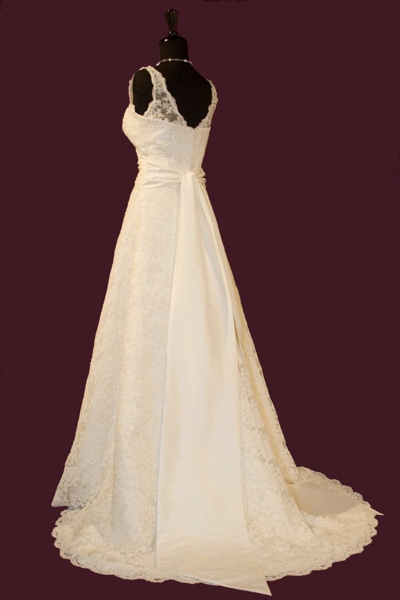 Ksl wedding dress  So Prettyally like the sleeves  Dresses for wedding
