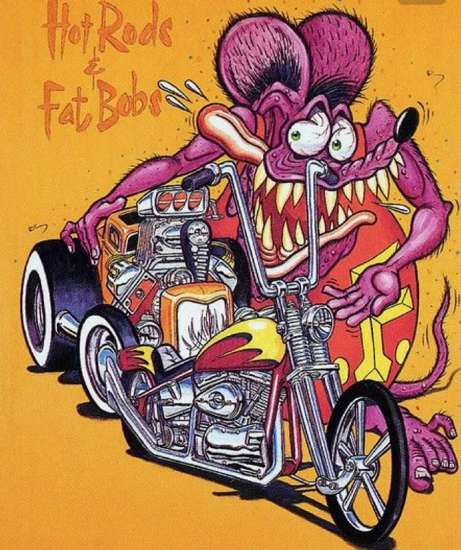 Fink Garage: Pin By WestCallaCycles On CAR TOONS
