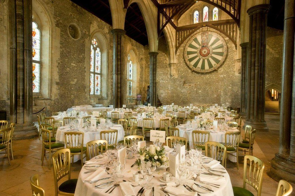 The Great Hall In Winchester Can Be Hired Out As A Wedding Venue Http