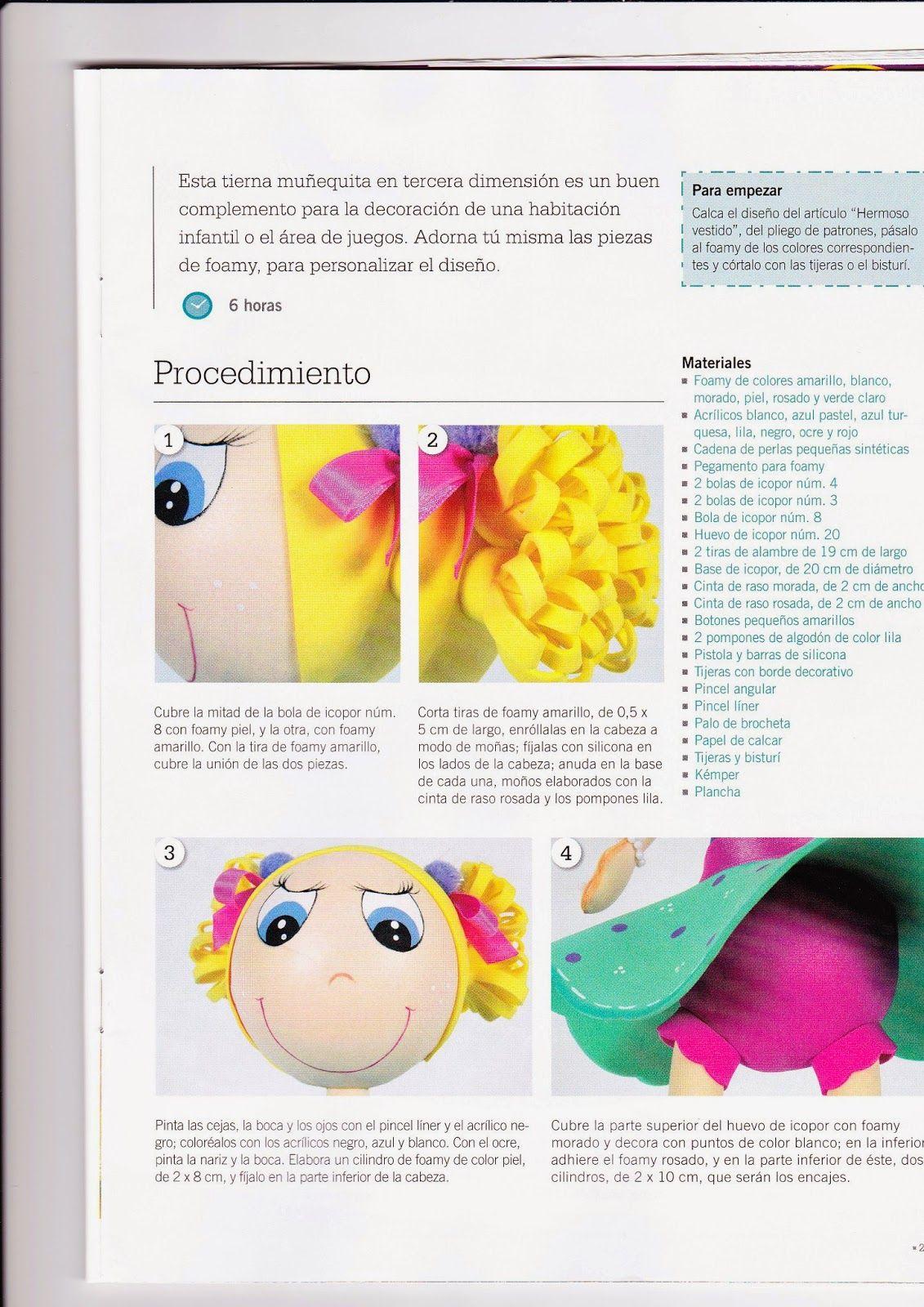 Revistas de manualidades gratis como hacer una fofucha - Manualidades como hacer ...
