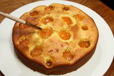 Cake alle albicocche