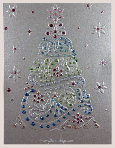 Christmas Tree - Glitter Tree