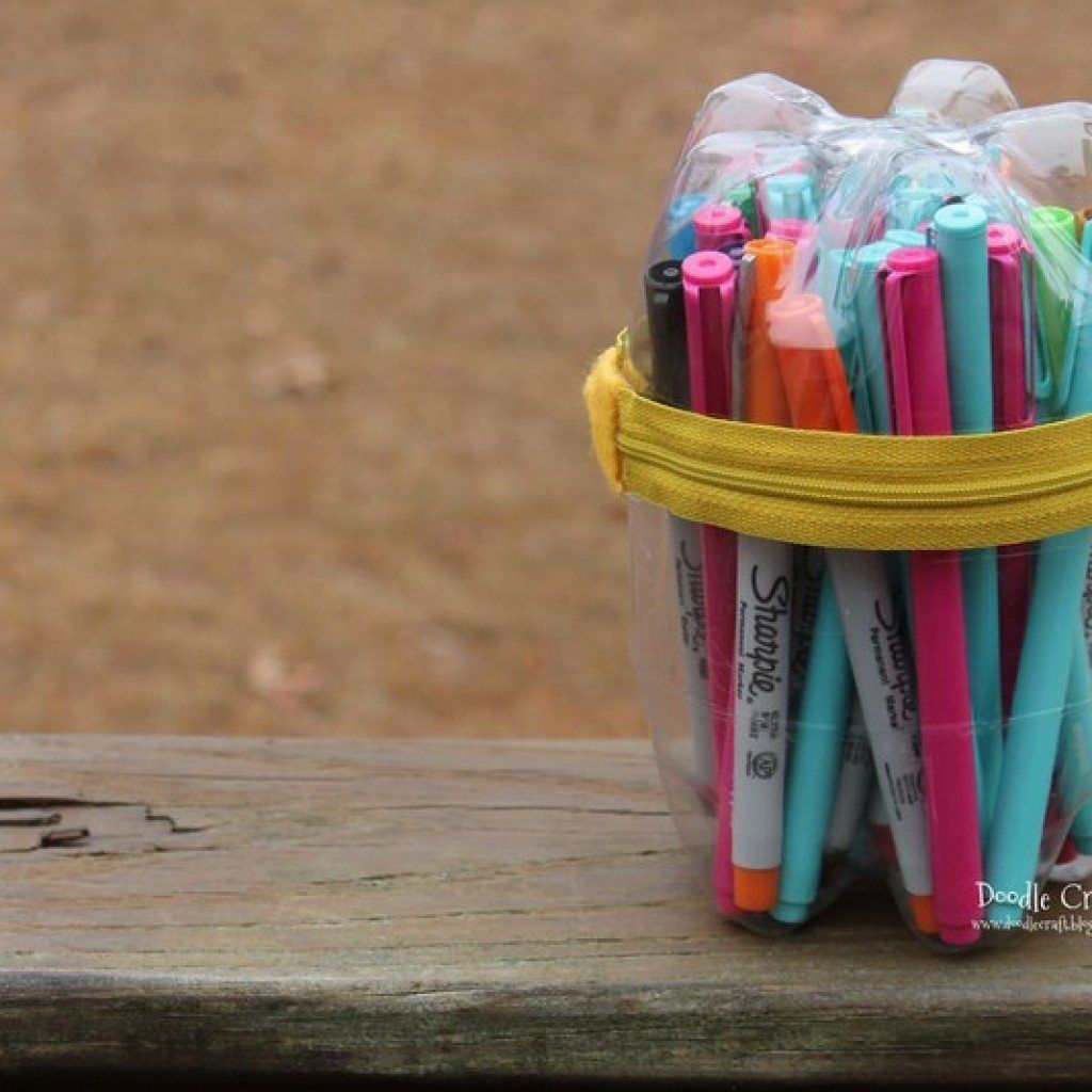 Soda Bottle Pencil Case