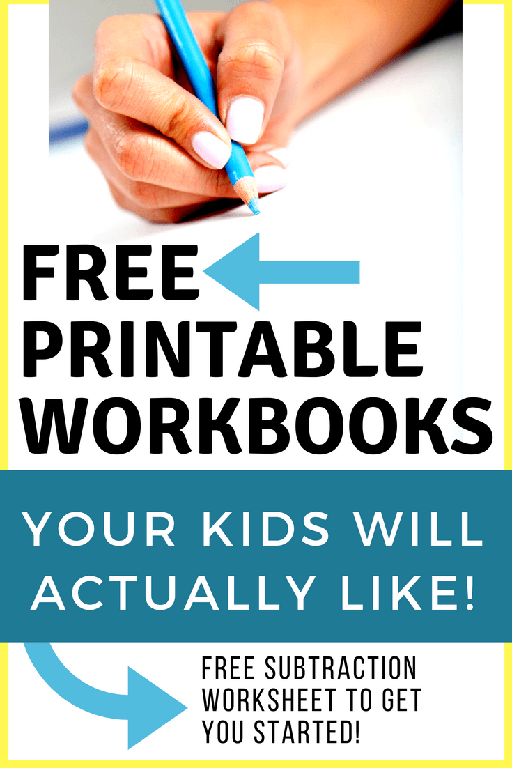 FREE Printable Workbooks for Your Homeschool | Homeschool/teaching ...