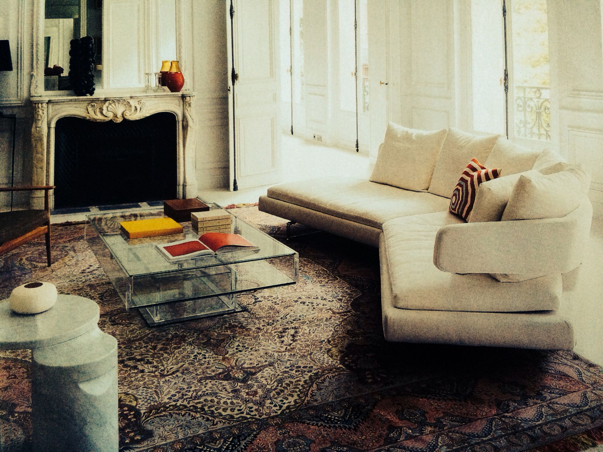 Arne sofa by Antonio Citterio B&B Italia pj