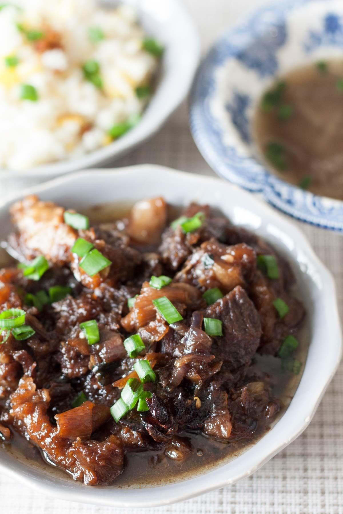 Filipino Beef Pares | The Bakeologie | Recipe | Beef pares ...