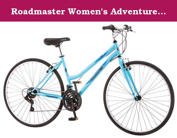 Roadmaster Women S Adventurers 700c Bicycle Blue 16 Small The Roadmaster Adventure Women S Hybrid Bike Will Provide M Hybrid Bike Hybrid Bike Women Bicycle