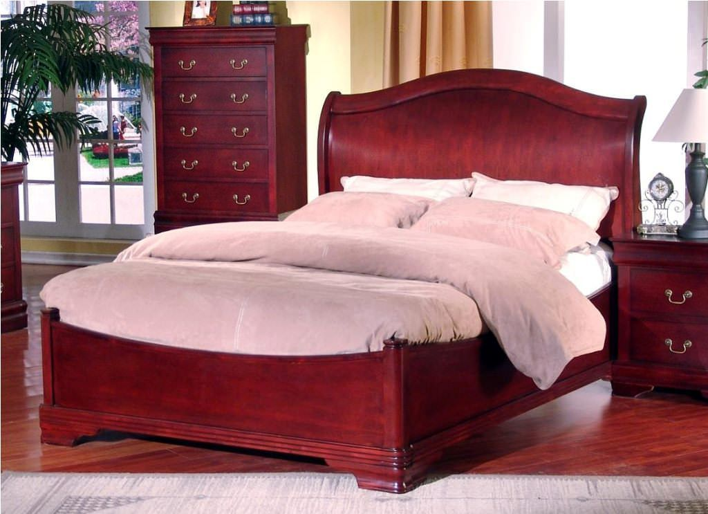 The Superior Fashion And Design Of Cherry Wood Sleigh Beds In 2020