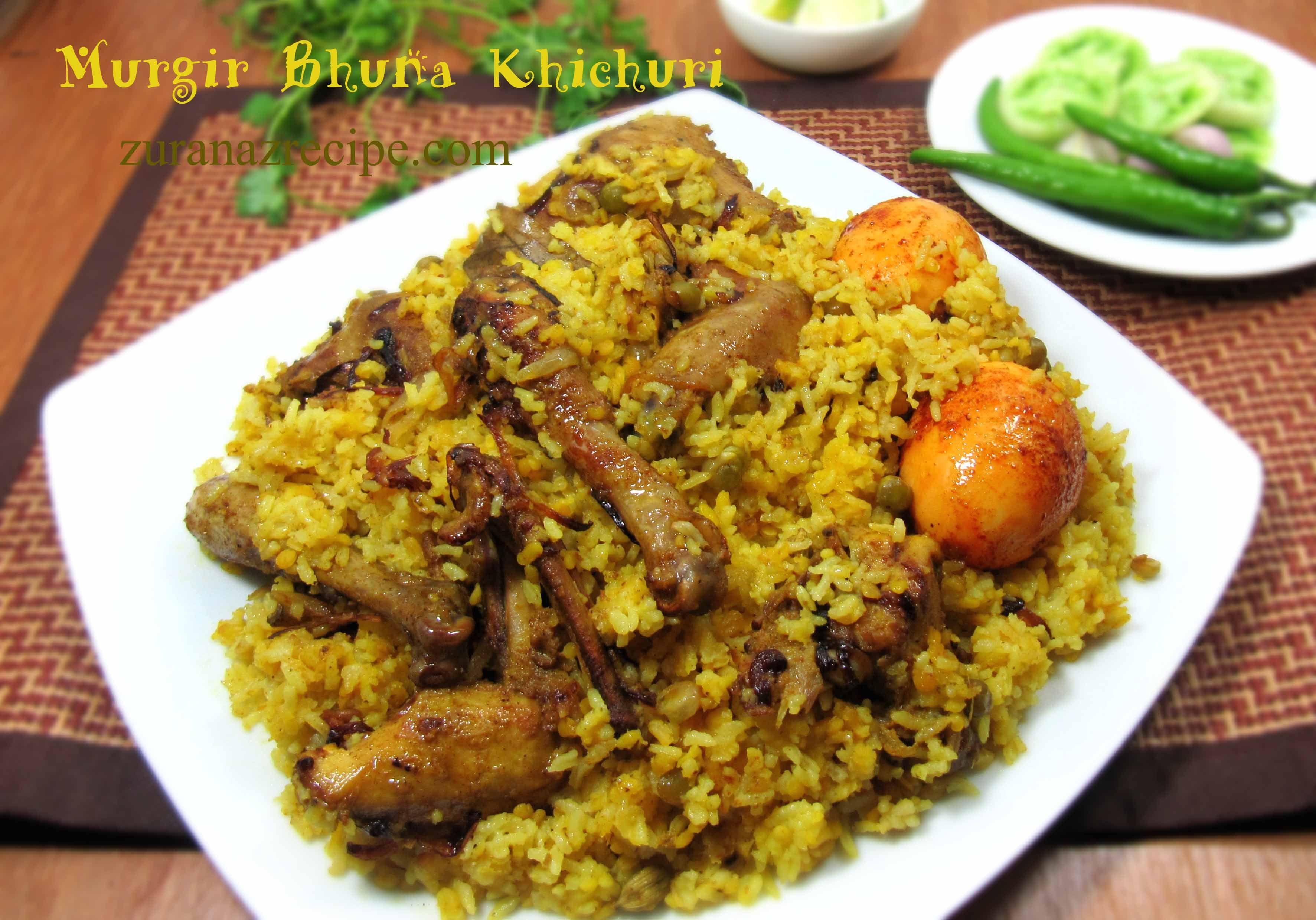 bfeba7deaae4d Murgir Bhuna Khichuri Chicken Khichuri