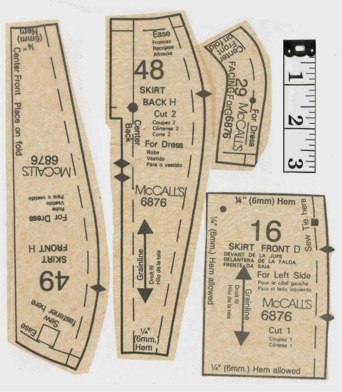 Full Size Pattern: http://adf.... | McCALLS 6876 - PATRON BARBIE ...