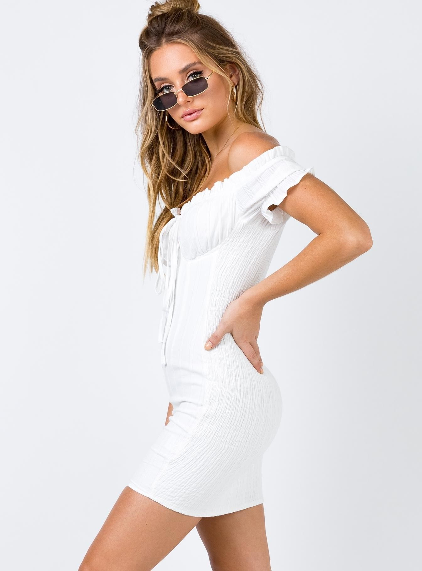90f0ca8ba9d87 The Kipp Mini Dress | Princess Polly | wardrobe. in 2019 | Dresses ...