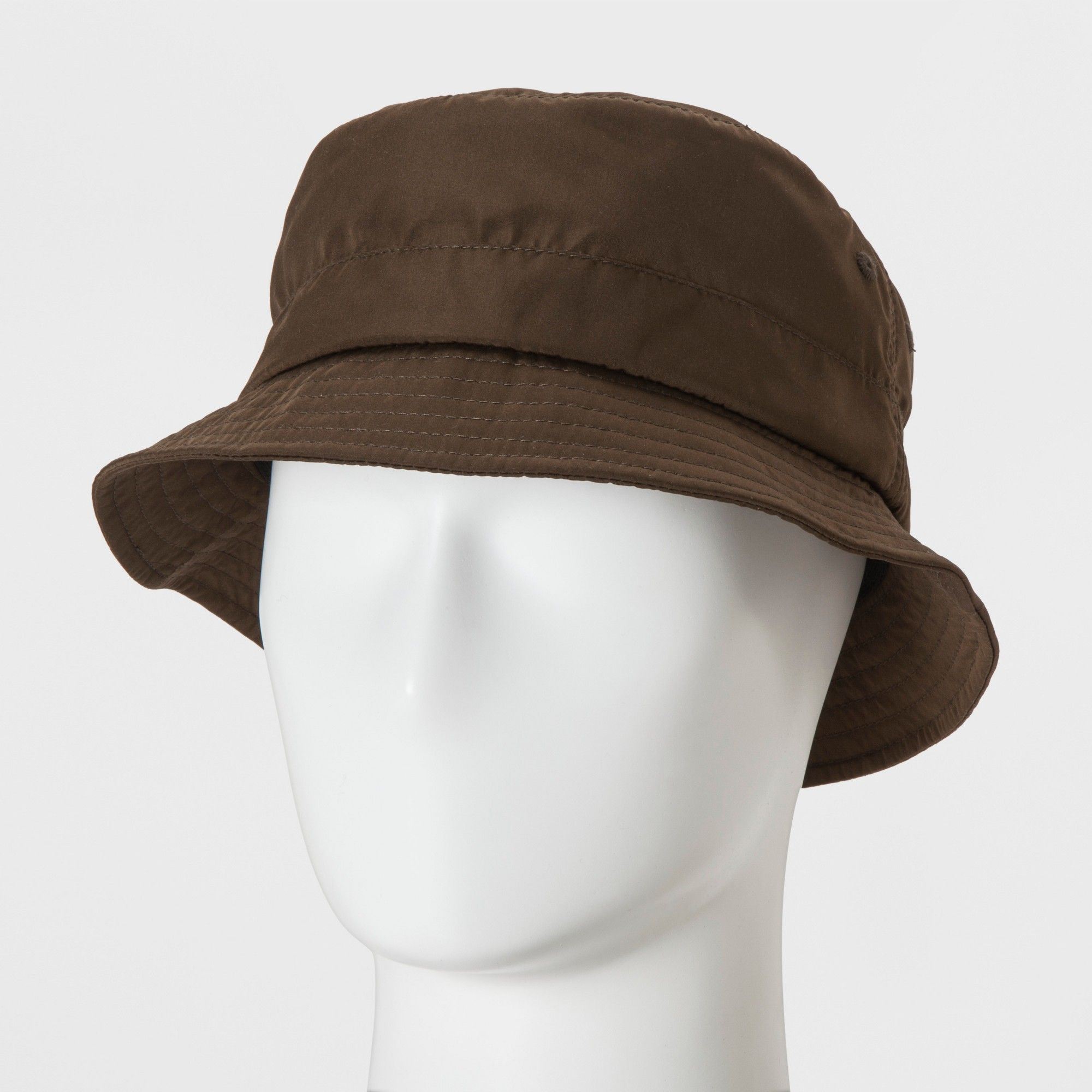 ae0f6a900583c Men s Khaki Fitted Bucket Hat - Goodfellow   Co Brown M L