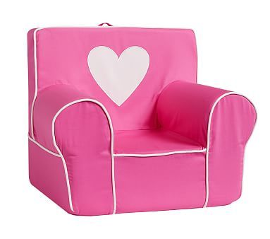 Anywhere Chair S C And Insert Set Pink Heart Applique