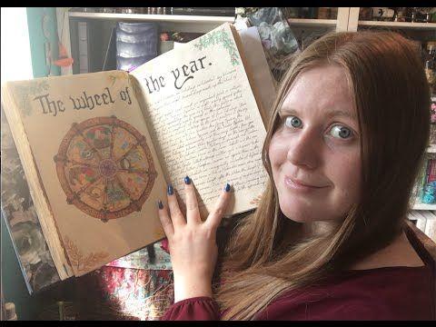 YouTube Pagan Challenge Week 21 - Book of Shadows - YouTube