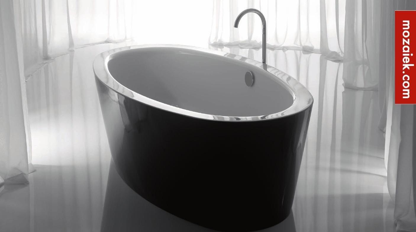 #ClippedOnIssuu from Mozaiek.com vrijstaande baden plaatstaal emaille | zwarte buitenkant | tegen meerprijs ook maatwerk in kleurkeuze