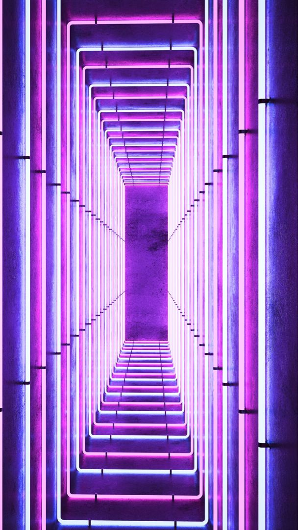 16+ Lock Screen Wallpaper Iphone Neon Purple Aesthetic Wallpaper Background