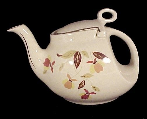 China Autumn Leaf Streamline 6 Cup Teapot Limited Edition Made For China Specialties To Go With Dinnerware Sold By T Jewel Tea Dishes Tea Pots Fall Leaf Decor