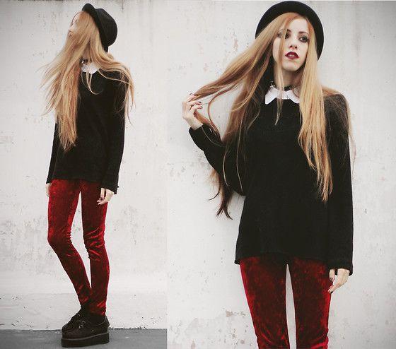 Made By Me Sweater, Made By Me Velvet Leggings