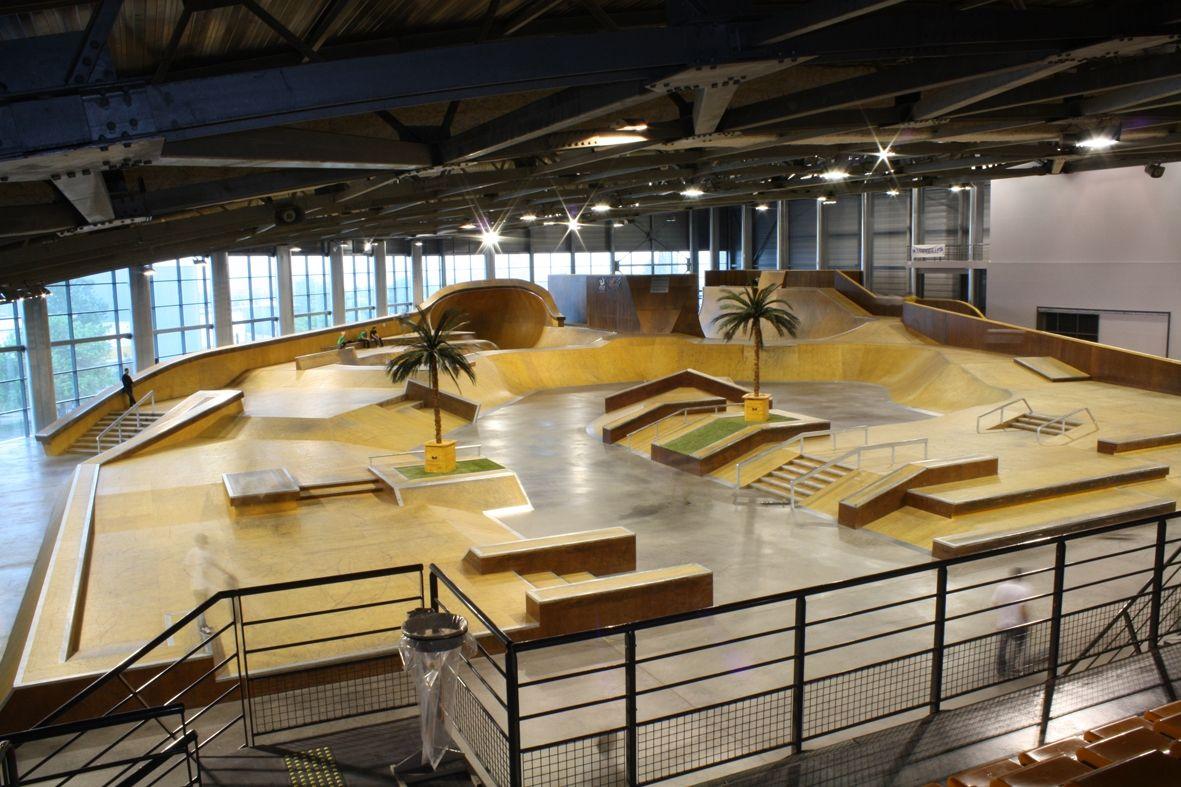 Indoor skate park marseille indoor skatepark marseille for E parking marseille