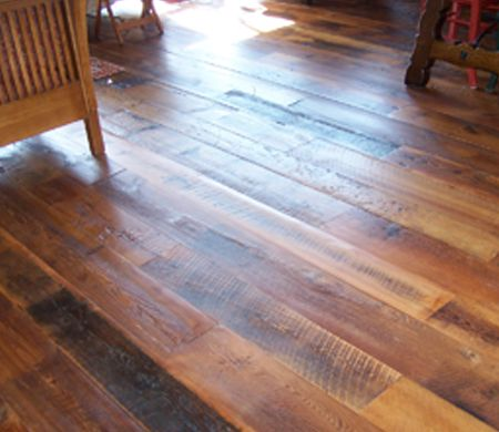 Reclaimed Rustic Hemlock Wood Flooring