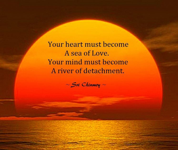 Your Heart Must Become An Ocean Of Love Sri Chinmoy Spiritual Fascinating Spiritual Quote Of The Day