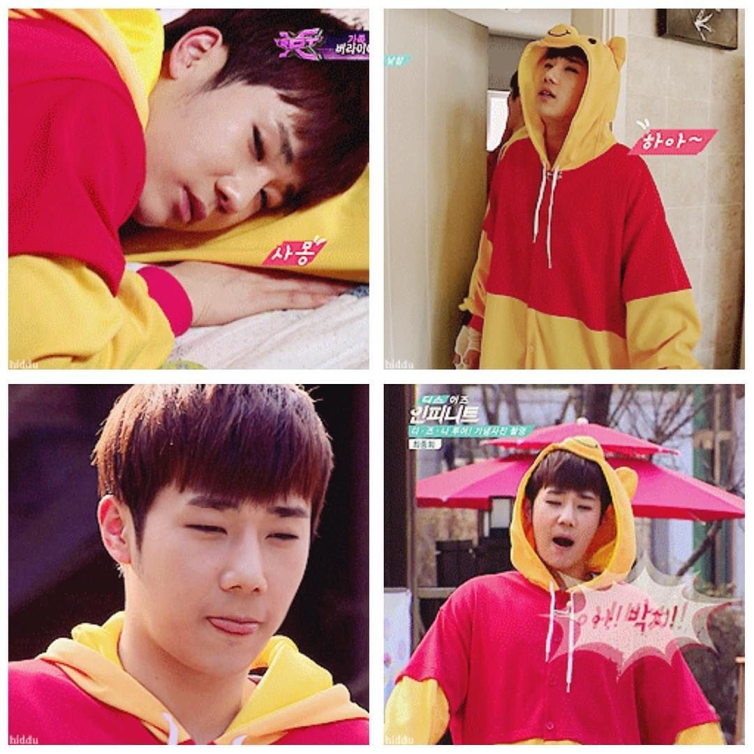 """he's a baby #sunggyu #kpop #infinite"""