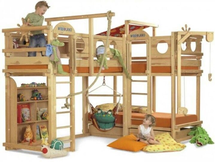 Coolest bunk beds ever Things for my Little people Pinterest