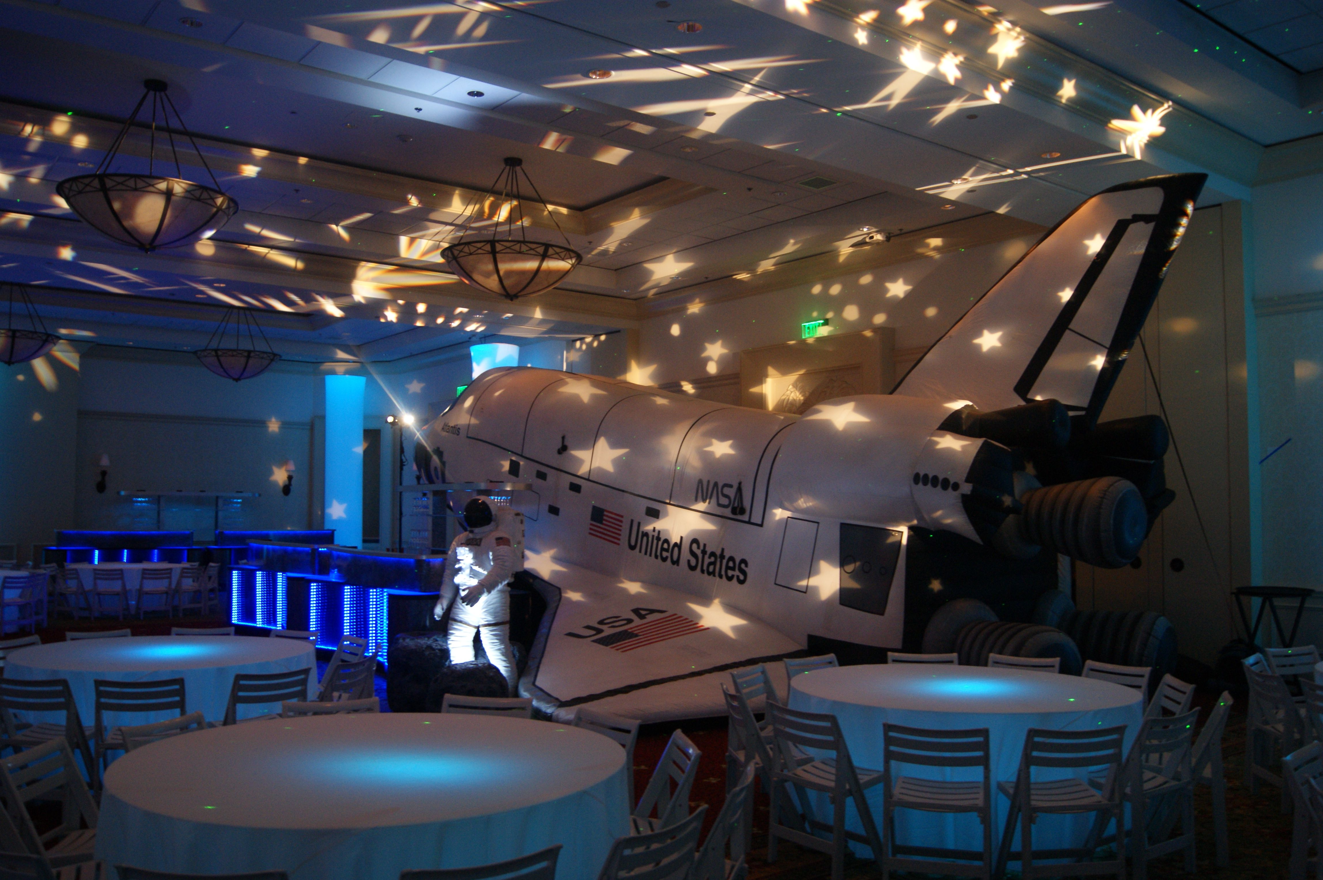 Out Of This World Space Themed Decor And Lighting By