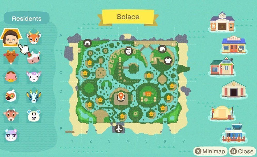 Animal Crossing Inspiration On Instagram An Island Full Of Islands Acnhidea By Ace Animal Crossing Animal Crossing 3ds Animal Crossing Wild World