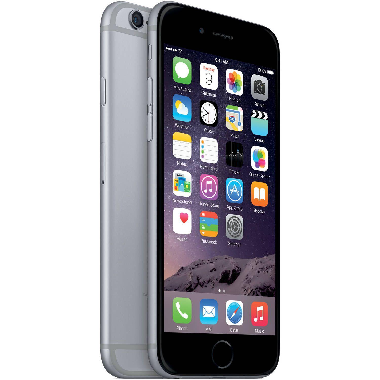 Straight Talk Apple 6 32GB Prepaid Smartphone, Space Gray