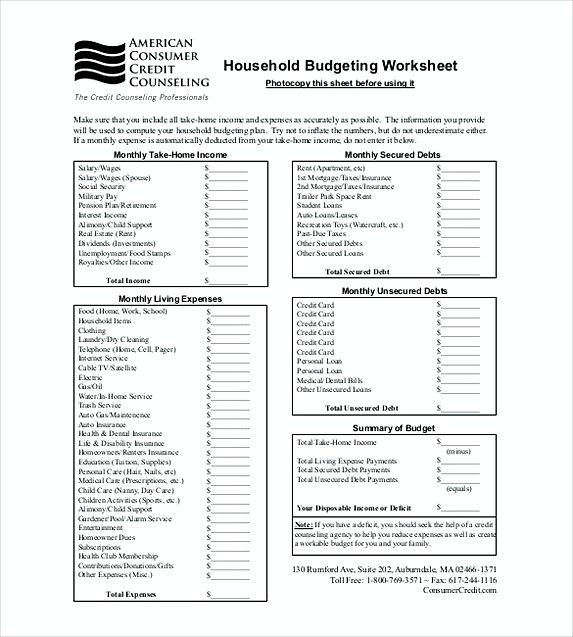 Household Budget Tracker Template Format Budget Tracker Excel - Budget tracker excel template