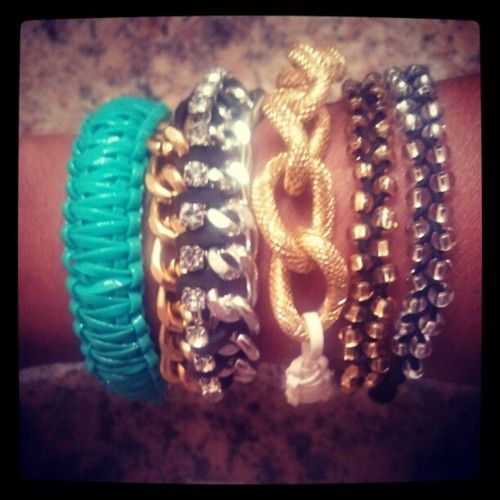 obsessed about DIY bracelets. So far I made all these :)