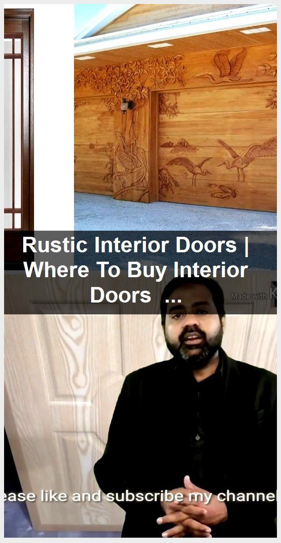 Photo of Rustic Interior Doors   Where To Buy Interior Doors   Internal Wooden Doors With…,  #Buy #d…