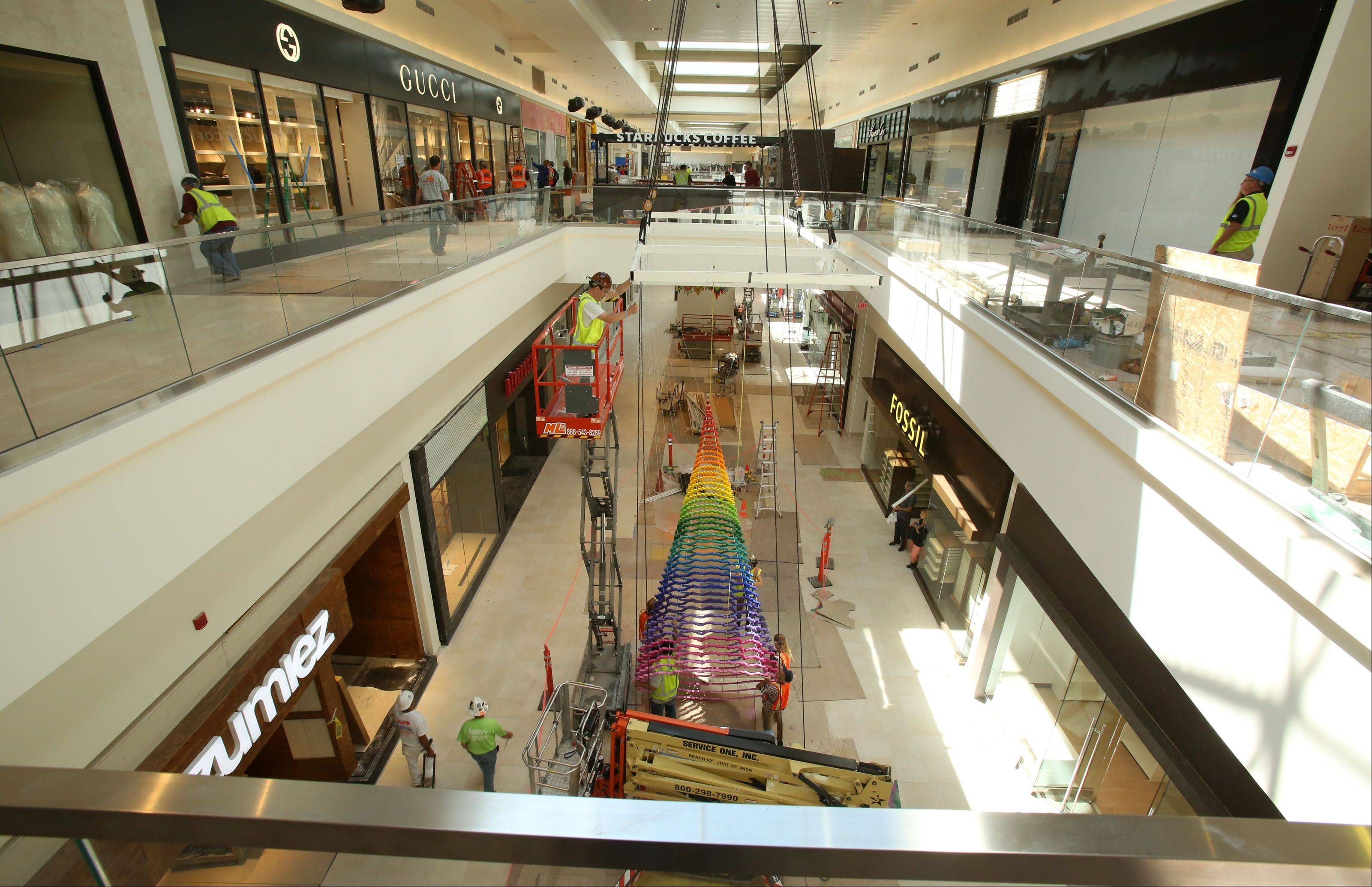 Rosemont S Upscale Outlet Mall Opens Thursday Mall Outlet Mall Rosemont