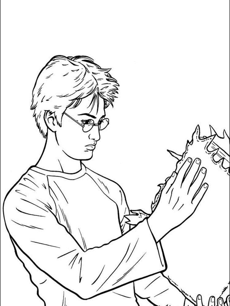 harry potter coloring pages printable free coloring