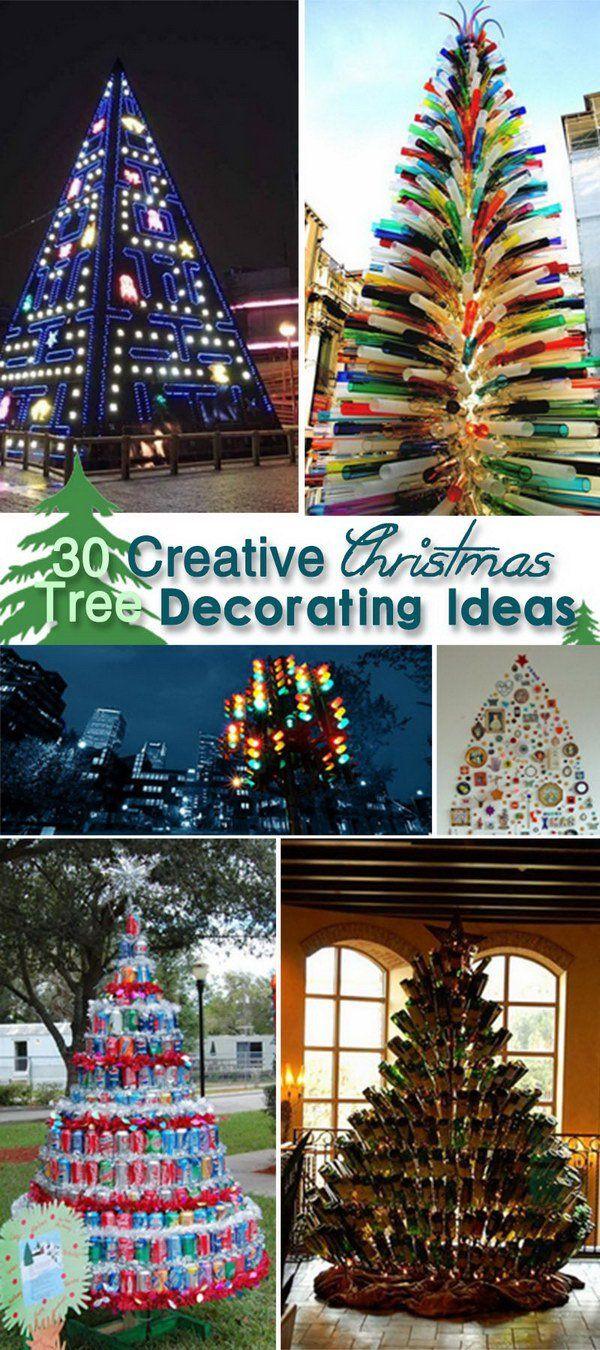 Creative Christmas tree decorating ideas | Creative Festival ...