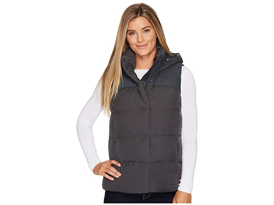 b0d0afc1f The North Face Novelty Nuptse Vest (Asphalt Grey) Women's Vest ...