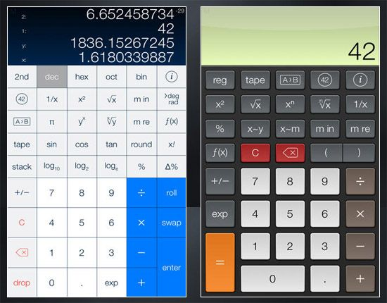 Calculator S For Ipad And Iphone
