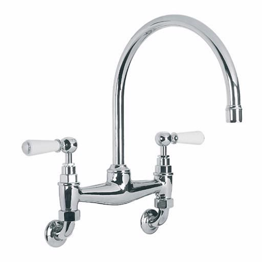 Beautiful Wall Mount Kitchen Faucet With Sprayer 4 Wall Mount Faucet With Spraye Wall Mount Kitchen Faucet Kitchen Faucet With Sprayer Bridge Faucet Kitchen