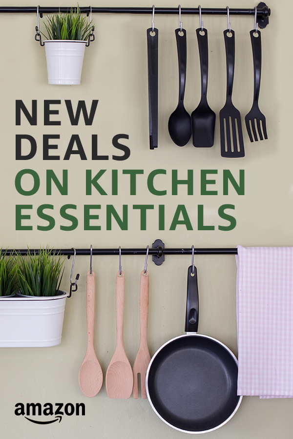 Amazon Kitchen Essentials: New Kitchen Deals. Every Day. Shop Our Deal Of The Day
