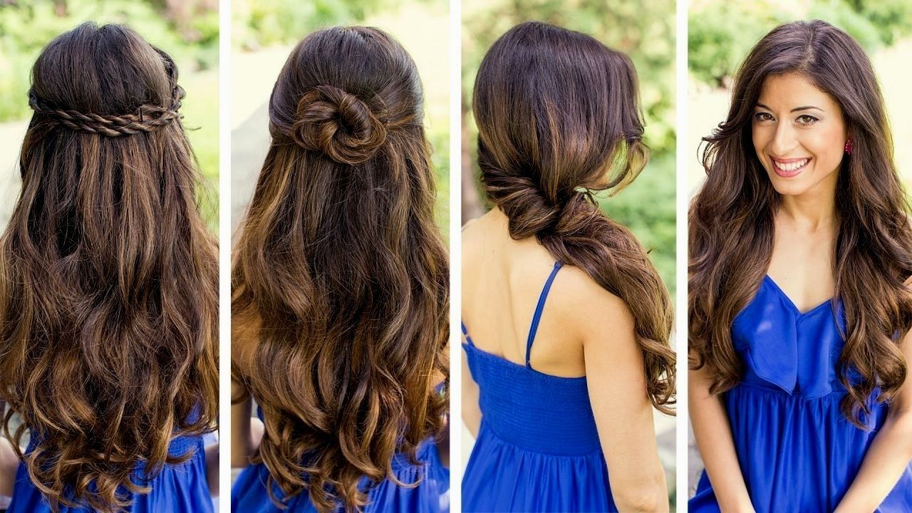 Easy hairstyles for medium hair to do at home u most girls apprehend