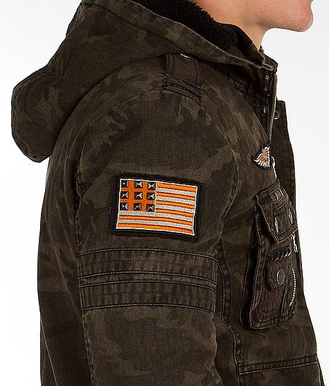 Affliction Jacket Army of us