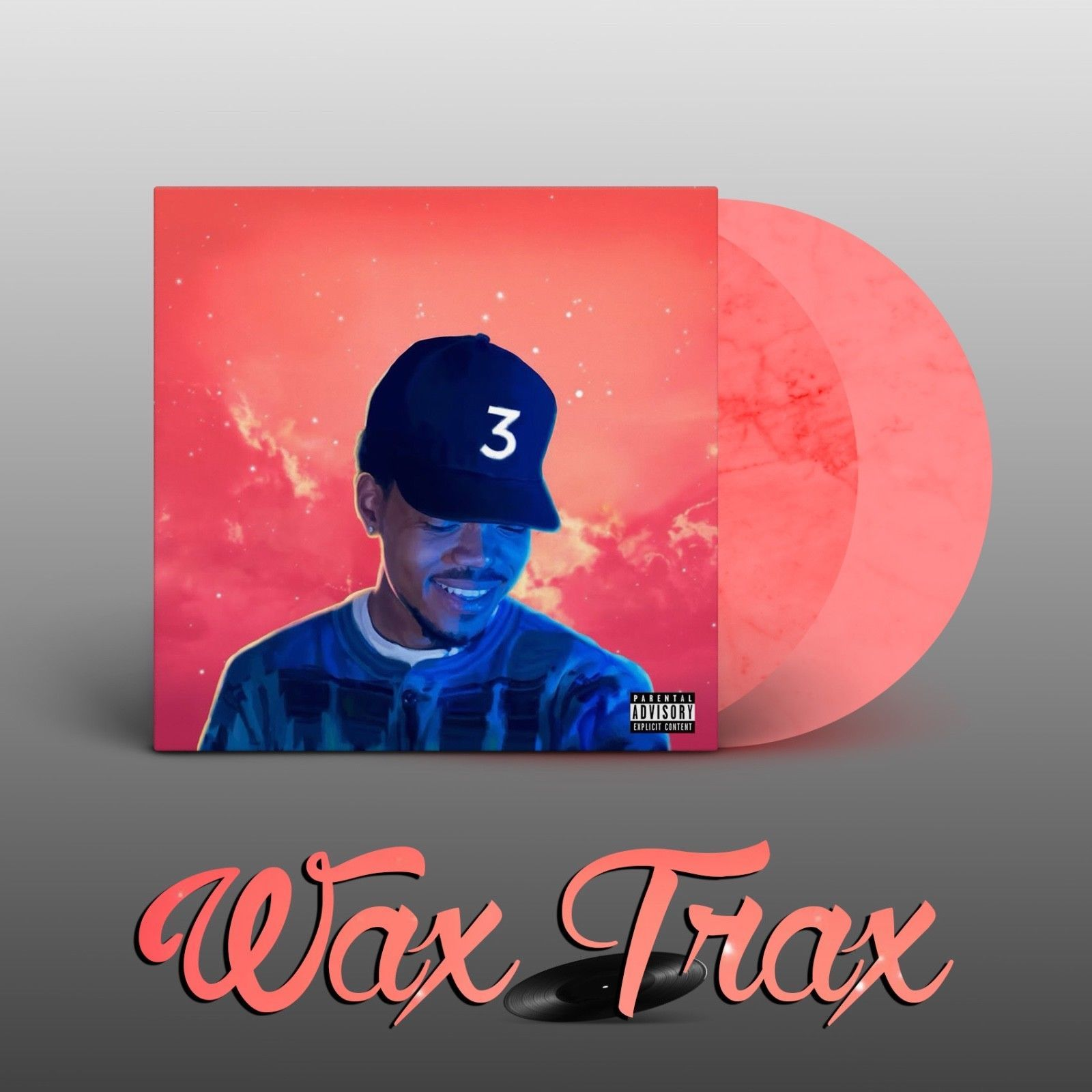 Chance The Rapper Coloring Book 2lp Vinyl Colored Clear Limited