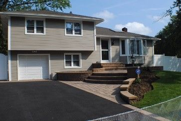 Split Level Vinyl Siding Exterior Design Ideas Help Our