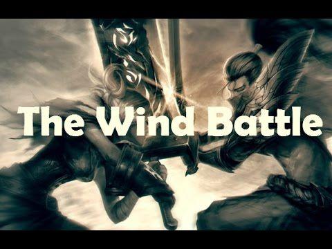 League Of Legends Riven Vs Yasuo Sword Fight Ae Rie